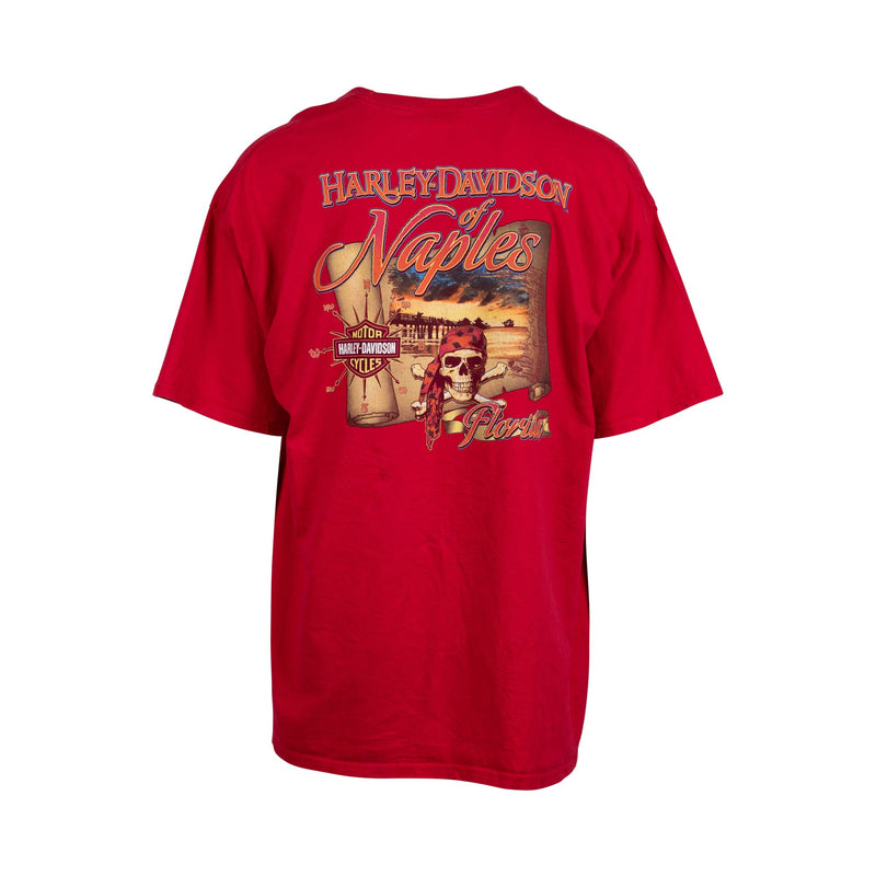 Harley Davidson of Naples Tee (2XL) - Spike Vintage