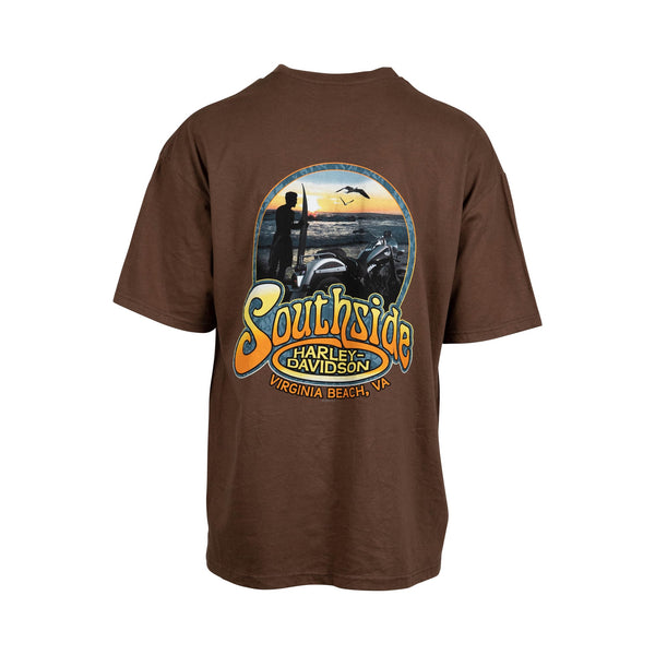 Harley Davidson Southside, Virginia Beach Tee (XL) - Spike Vintage