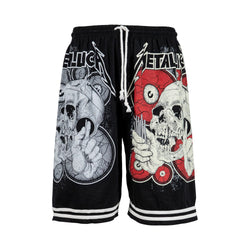 Metallica Drawstring Shorts (XL) - Spike Vintage
