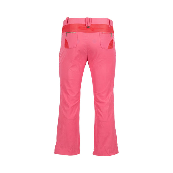 Pink Chanel Pants (S-M) - Spike Vintage