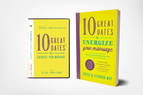 10 Great Dates DVD with Josh + Christi Curriculum (incl. Book)