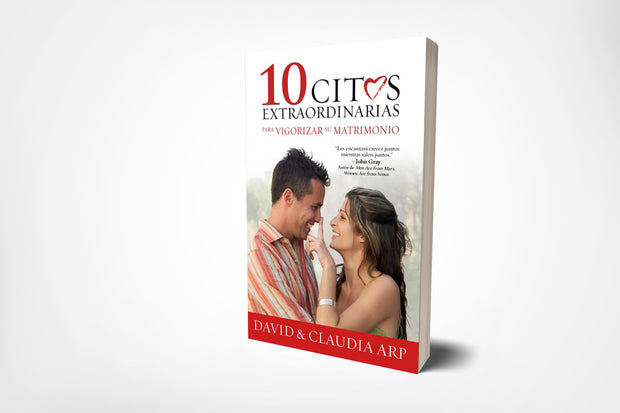 book cover of 10 great dates, spanish, by david arp, and claudia arp