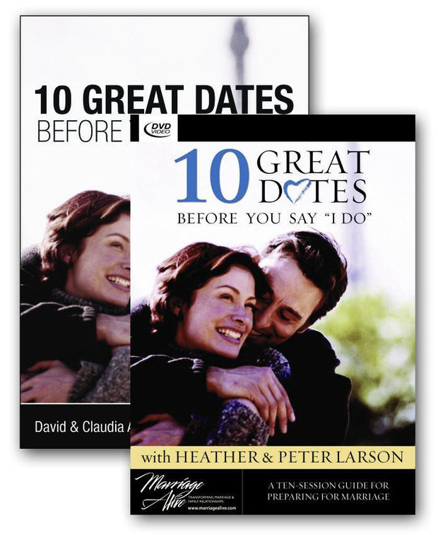 "10 Great Dates Before You Say ""I Do"" DVD curriculum"