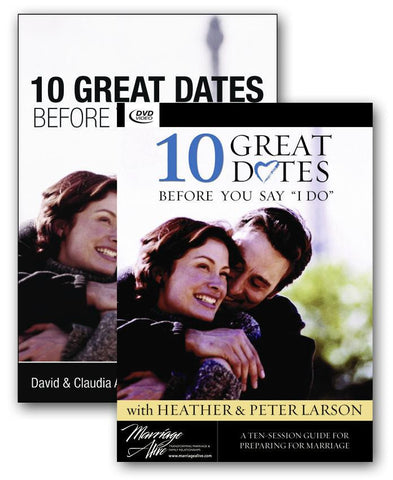 10 Great Dates Before You Say I Do - DVD Curriculum