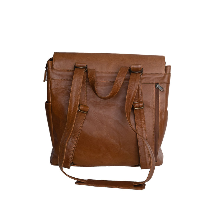 The Bebe Backpack in Toffee