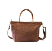 The Beula Baby Bag in Brown (4)