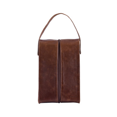 Leather Wine Cooler Bag