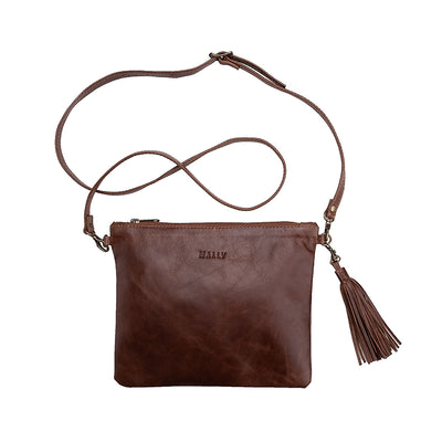 The Poppy Sling Bag in Brown