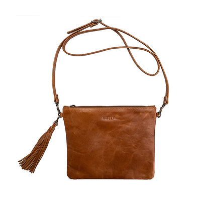Poppy Sling Bag in Toffee