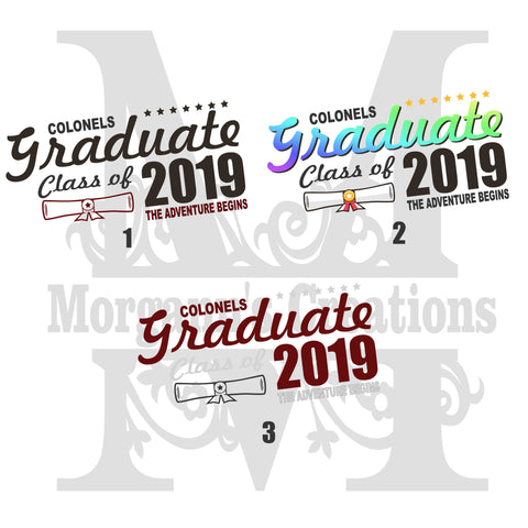 Graduation Pack 4 - Decal/Heat Transfer