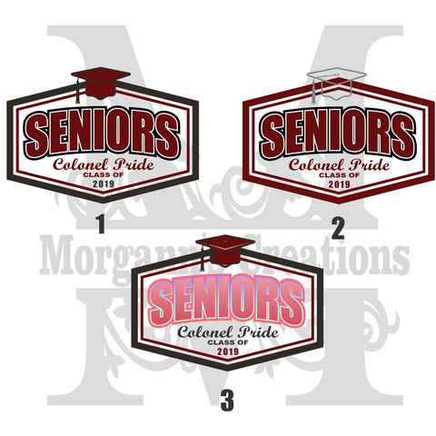 Graduation Pack 6 - Decal/Heat Transfer