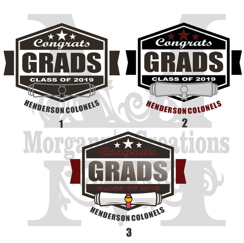 Graduation Pack 7 - Decal/Heat Transfer
