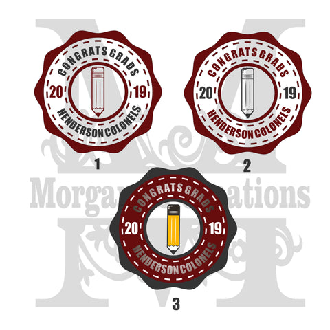 Graduation Pack 9 - Decal/Heat Transfer
