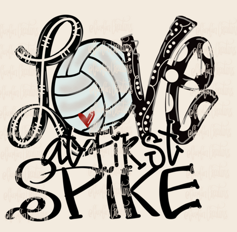 Love at First Spike - Heat Transfer/Sublimation Transfer