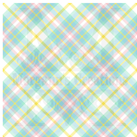 Easter Plaid Pattern