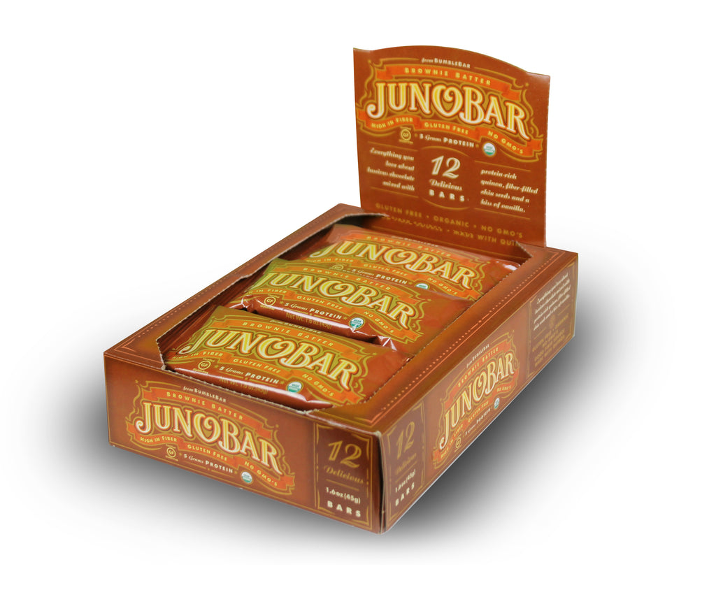 JunoBar Brownie Batter (12 Bars)