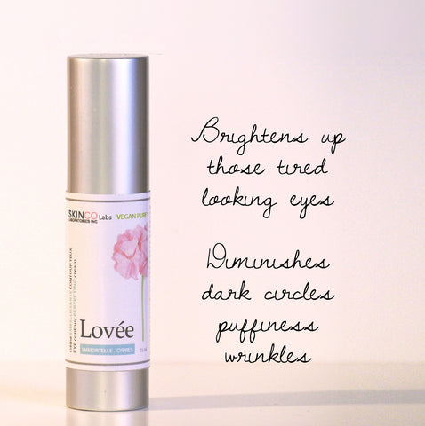 O'LOVEE- Eye contour cream  100% Plants 15 ml