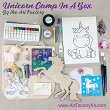 Load image into Gallery viewer, Camp in a Box - Unicorn