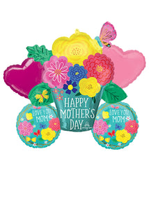 "Mother's Day ""Love You Mom!"" Balloon Bouquet"