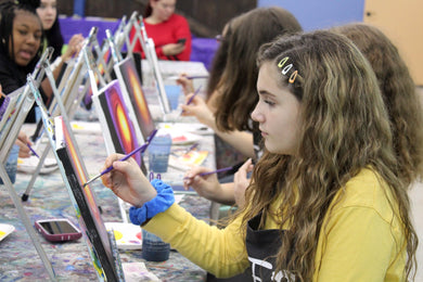 Private Virtual Canvas Party for Teens