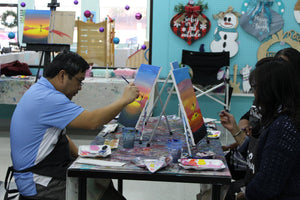Private Virtual Canvas Party for Adults
