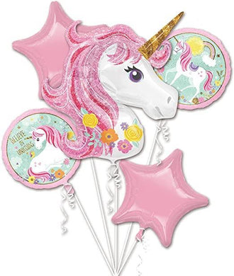 Balloon Bouquet - Believe in Unicorns