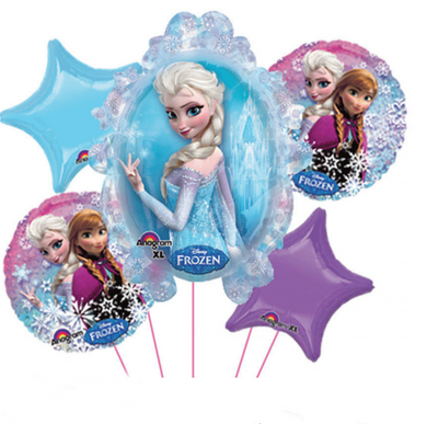 Balloon Bouquet - Frozen 1