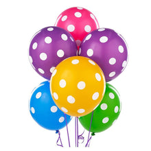 Load image into Gallery viewer, Balloon Bouquet - Polka Dot OR Solid Latex Balloon Bouquet