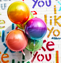 Load image into Gallery viewer, Balloons - Ombre Orbz (single balloon)