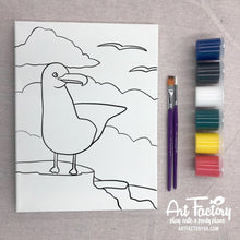 Load image into Gallery viewer, Pre-Traced Canvas - Seagull