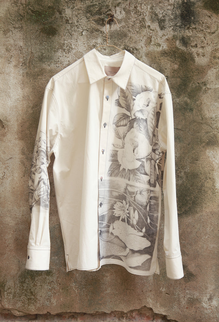 ACQUAFORTE PRINT SHIRT