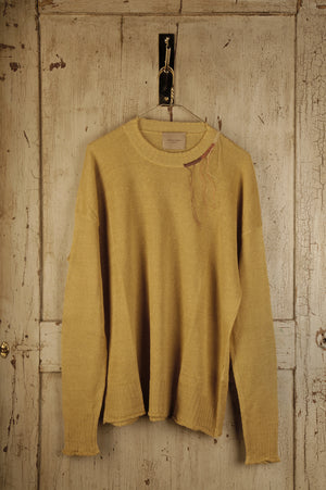 Jumper With Embroidered Neck