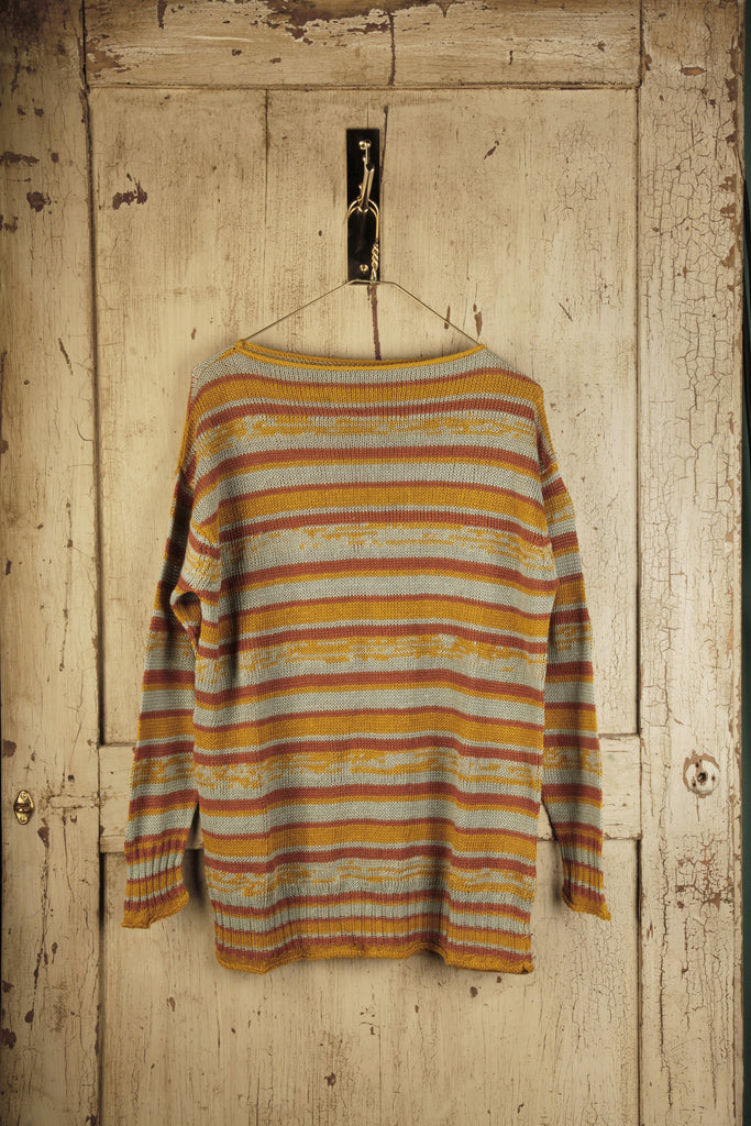 Striped Boat Collar Jumper