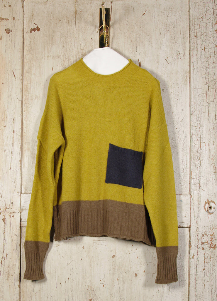BLOCK COLOR KNIT