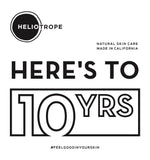 tenth anniversary ten years heliotrope dependable sfmade bay area