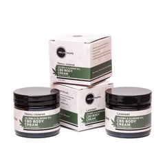CBD body cream salve organic