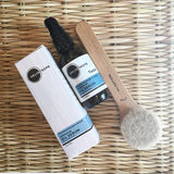 face care skincare facial brush moisturizer serum