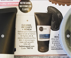 elle magazine tips n trends heliotrope in the press