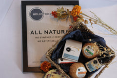 all-natural skincare aromatherapy gift basket
