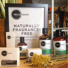 Customizable Fragrance-Free Heliotrope Products