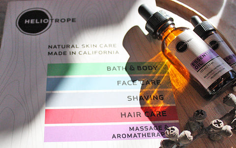 Natural Products for Skin, Hair, and Body Care  | Heliotrope
