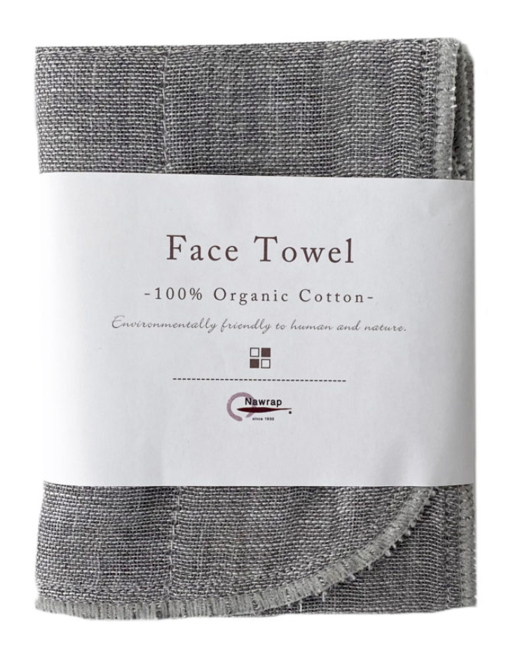 japanese organic cotton towel hand face body ippinka nawrap binchotan