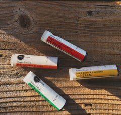 all-natural skincare aromatherapy lip balms