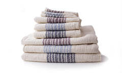 Kontex Flax Towels (stack of varying sized towels)