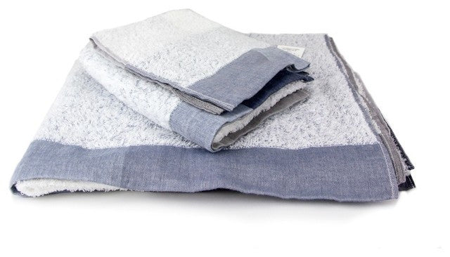 Kontex Palette Towels (small stack of bath towel & hand towel & washcloth)