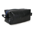 upcycled rubber dopp kit truck tires travel blue