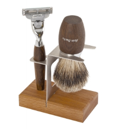 wood shaving stand double