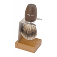 single wood shaving brush