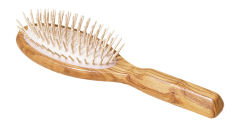 Redecker Olivewood Brushes w/Wooden Pins