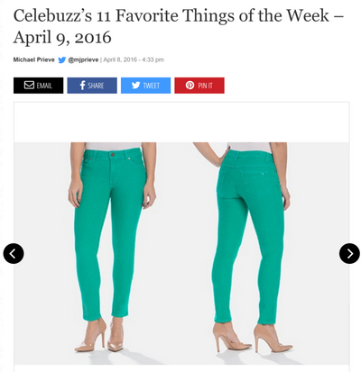 Celebuzz Picks Audrey Ankle as part of 11 Favorite Things!